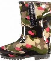Voordelige meiden regenlaarzen camouflage trend