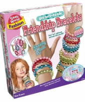Vriendschap armbanden knutsel set trend