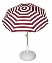 Vulbare parasol voet van plastic trend 10157264