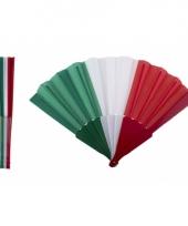 Waaier italiaanse vlag trend