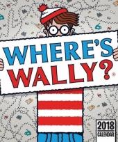 Waar is wally maandkalender 2018 trend