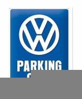 Wanddecoratie volkswagen parking trend