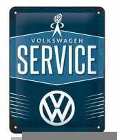 Wanddecoratie volkswagen service trend