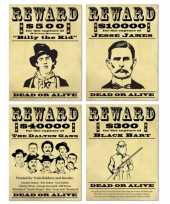 Wanddecoratie wanted posters trend