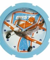Wandklok van disney planes trend