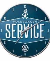 Wandklok volkswagen service 31 cm trend