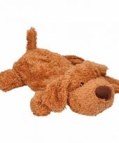 Warm water kruik bruine hond trend