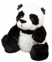 Warme knuffel kruik panda bosdieren trend