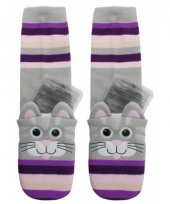 Warmte sokken kat voor kinderen trend