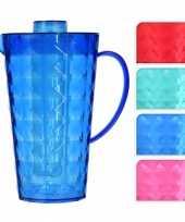 Water kan met koelelement van groen plastic trend
