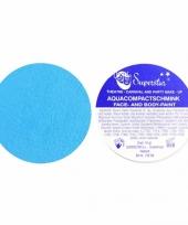 Water schmink pastel blauw trend