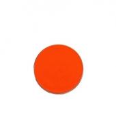 Waterbasis schminken fel oranje trend