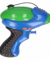 Waterpistool blauw groen 10 cm trend