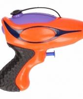 Waterpistool oranje paars 10 cm trend