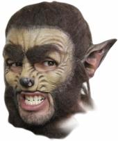 Weerwolf masker deluxe trend