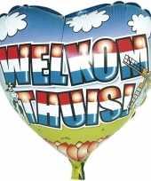 Welkom thuis folie ballon helium trend