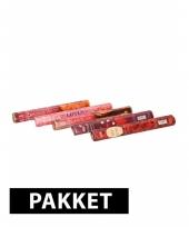 Wierook pakket c vijf geuren 100 stokjes trend