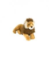 Wild republic pluche liggende leeuw 40 cm trend