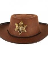 Wilde westen cowboy hoed trend