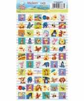 Winnie de poeh stickervel 66 stickers trend