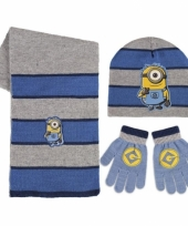 Winter set kids minions trend