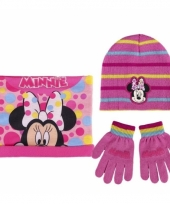 Winter set kids minnie mouse trend