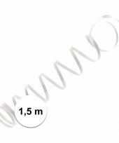 Wit ballon lint 1 5 meter trend