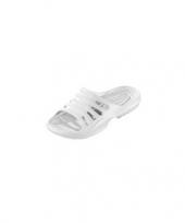 Wit gekleurde zwembad sandalen voor heren trend