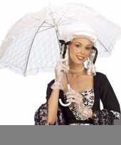 Wit kanten parasol trend