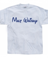 Wit malt whisky t-shirt trend