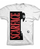 Wit scarface poster t-shirt trend