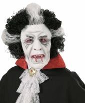 Wit vampieren masker voor volwassenen trend