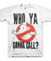 Wit who ya gonna call t-shirt trend