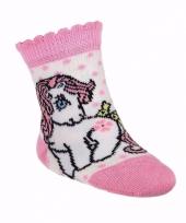 Witte baby sokken my little pony trend