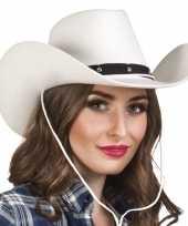 Witte cowboyhoed wichita voor dames trend