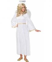 Witte engelen verkleedjurk trend