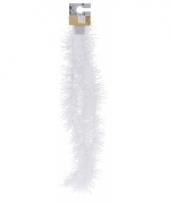 Witte folieslinger fijn 180 cm trend