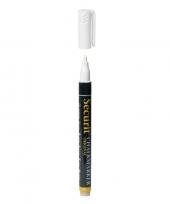 Witte krijtstift ronde punt 1 2 mm trend