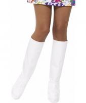Witte laarshoezen voor dames trend