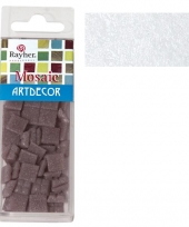 Witte mozaiek steentjes 310 st trend