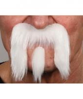 Witte snorren set trend