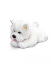 Witte terrier knuffel hondje 30 cm trend