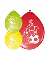 Woezel en pip gekleurde ballonnen trend