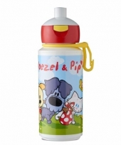 Woezel en pip pop up drinkbeker 275 ml trend