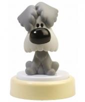 Woezel hondje led nachtlampje 14 cm trend