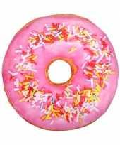 Woonaccessoire donut kussen 40 cm trend