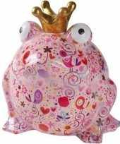 Xl spaarpot roze kikker type 9 28 cm trend