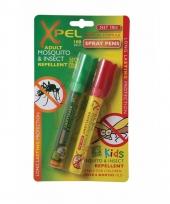 Xpel insectenwerende spray pen 4 uur werking trend