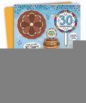 Xxl 3d taart kaart 30 jaar trend
