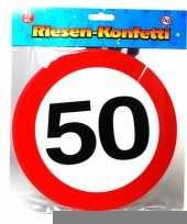 Xxl confetti 50 jaar trend